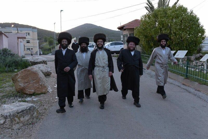 מאות מאברכי שובו בנים הגיעו לשבת ההתאחדות במירון